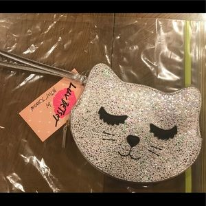 Betsey Johnson Kitty coin purse.